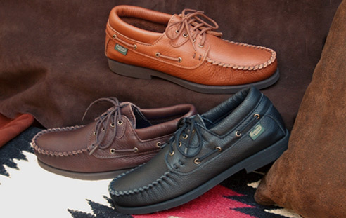 Men's Leather & Deerskin Moccasins